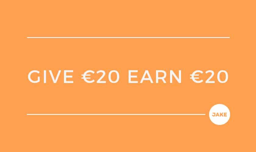 Give €10, earn €10