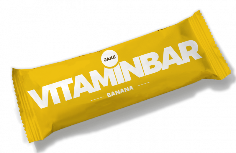 Meal replacement bar picture in banana flavour