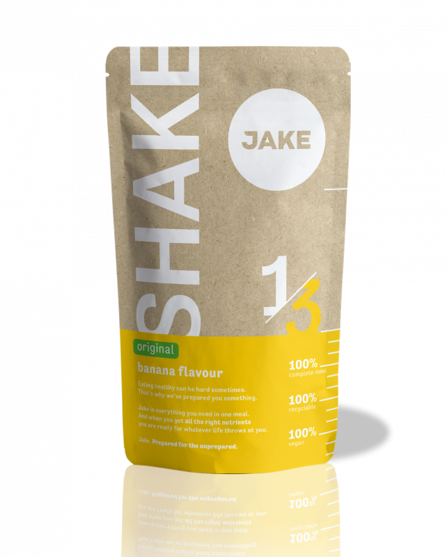 A picture of a meal replacement shake in Original Banana
