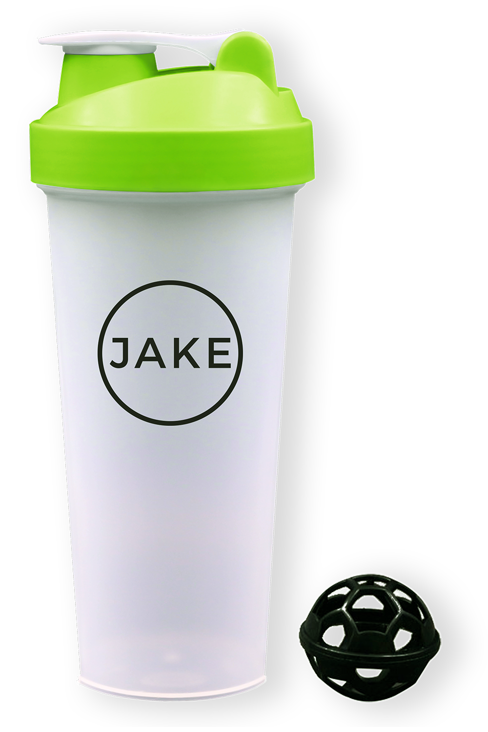 A picture of a Jake Shaker (600ML) with anti-clutter ball